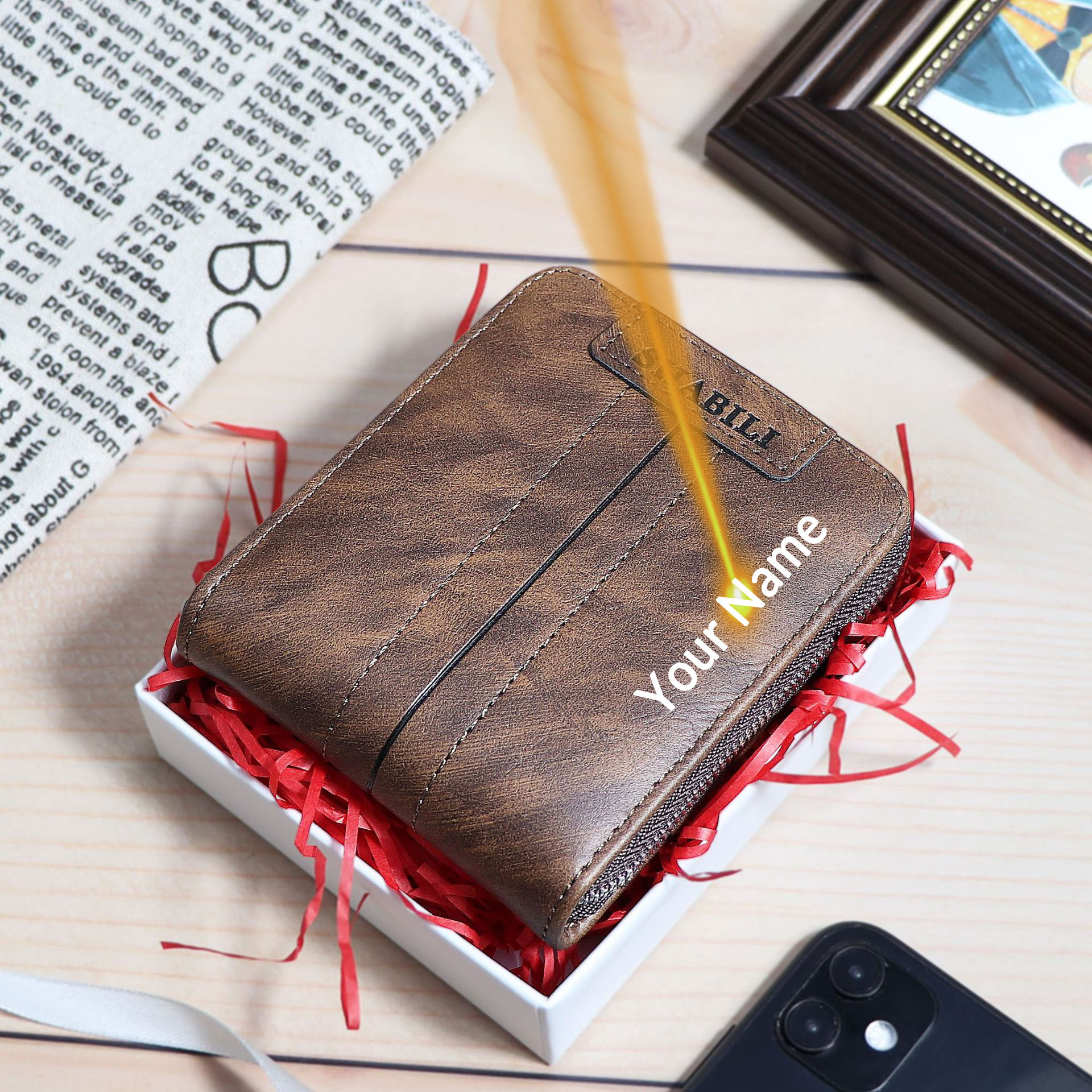 CEXIKA PU Leather Men Wallet Coin Purse Vintage Small Mini Card Holder PORTFOLIO Male Wallets Pocket