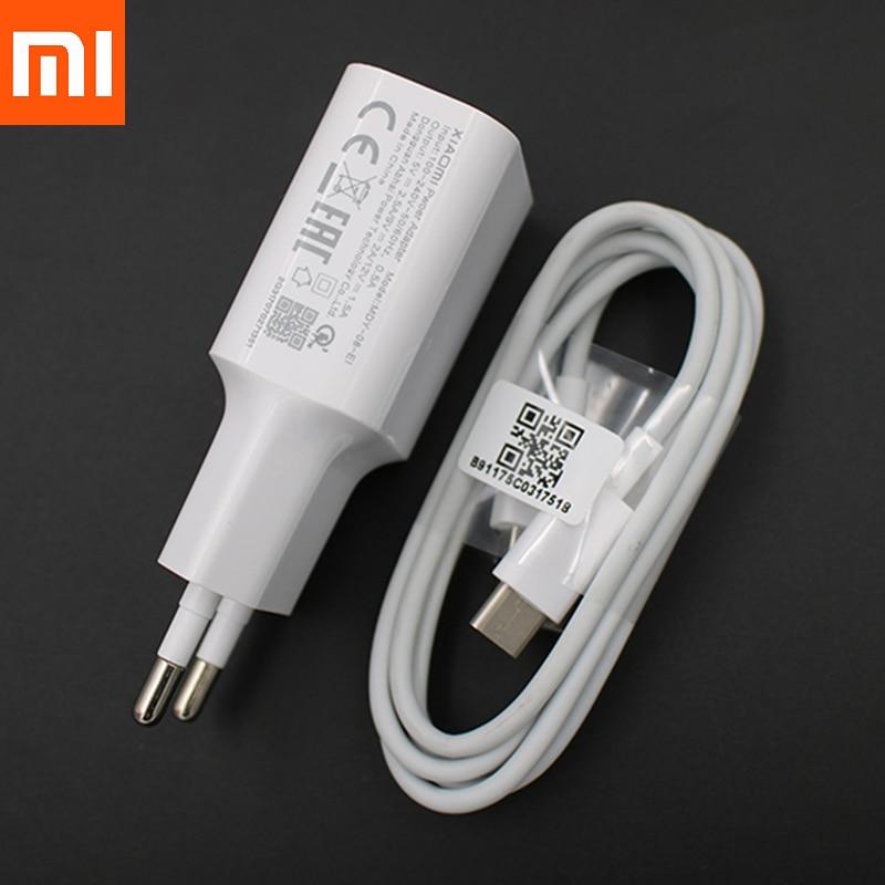 XiaoMi cargador rápido QC3.0 18W EU cargador de viaje adaptador de tipo...