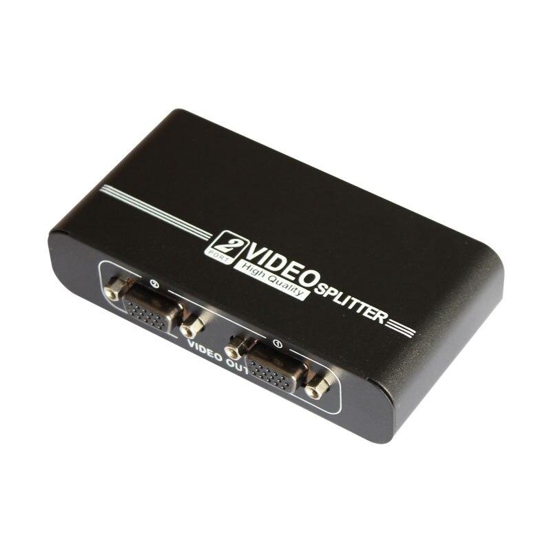 Convertidor de señal VGA, divisor de Monitor, conmutador VGA, 1 en 2,...