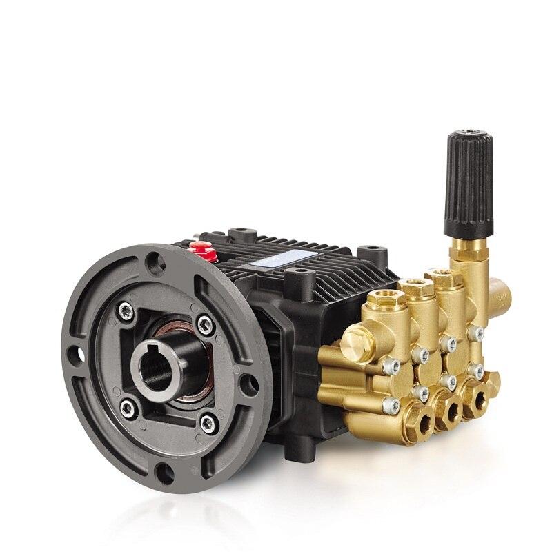 Bomba de lavado de carretera de émbolo Triplex de latón FBM para lavadora 8-19 L/min 100-250 bar