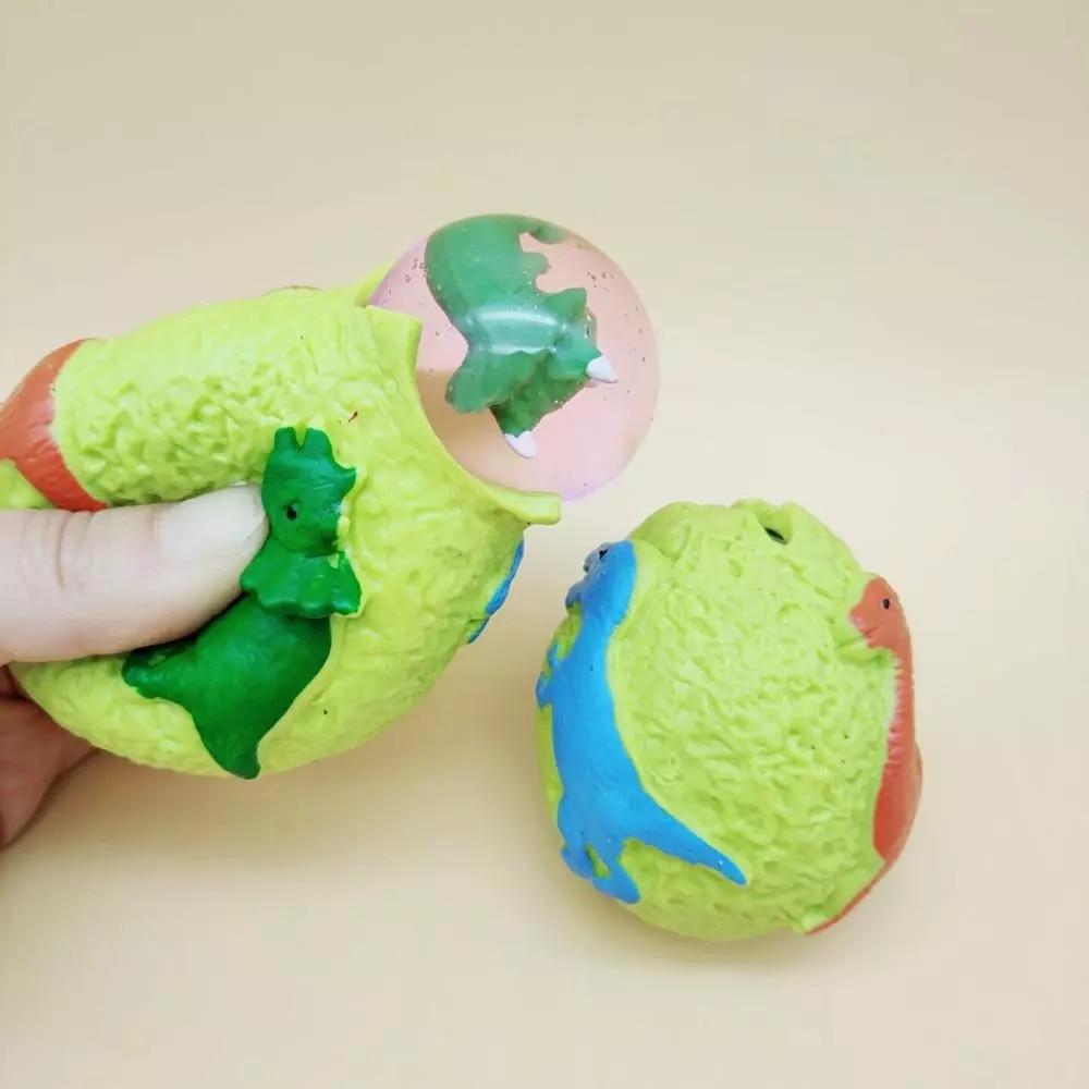 Dinosaur Squishy Toys Antistress Inflatable Animal Toy Squeeze Soft Ball Balloon Halloween Cute Funny Kids Gifts enlarge