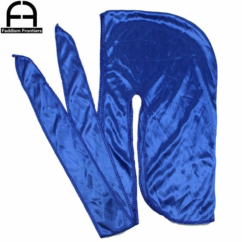 700pcs Durag Wholesale Bandana Headwear For Men Long Tail Silky Durags Wave Cap