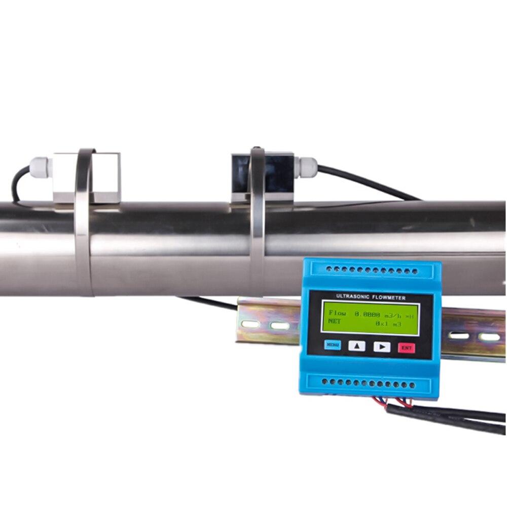 TUF-2000M TS-2/TM-1/TL-1/TS-2-HT محول المحمولة المشبك على تدفق المياه متر الاستشعار وحدة الثابتة بالموجات فوق الصوتية مقياس الجريان