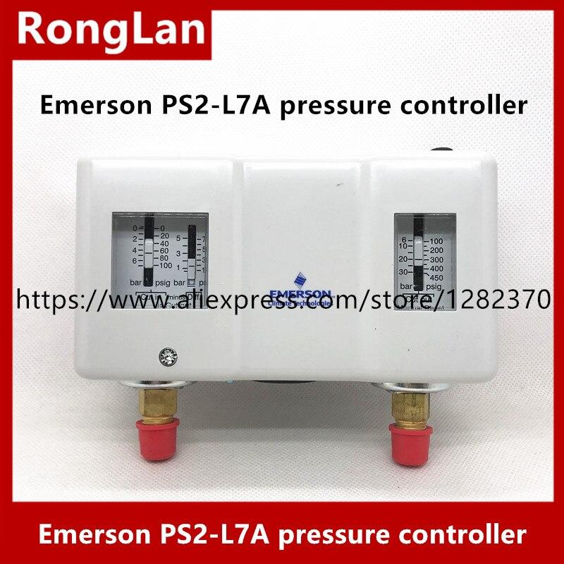 ALCO إيمرسون PS2-L7A PS2-A7A PS2-L7U PS2-G8A PS2-R7K PS2-A7K PS2-R7U (عالية منخفضة الضغط التلقائي) استيراد الضغط تحكم