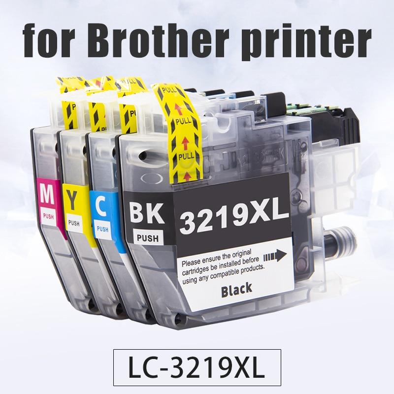 Topcolor, LC-3219, 3219XL, Compatible con Brother, cartucho de tinta LC3219, MFC-J5330DW, J5730DW, J5930DW, J6530DW, J6935DW, impresora LC3217