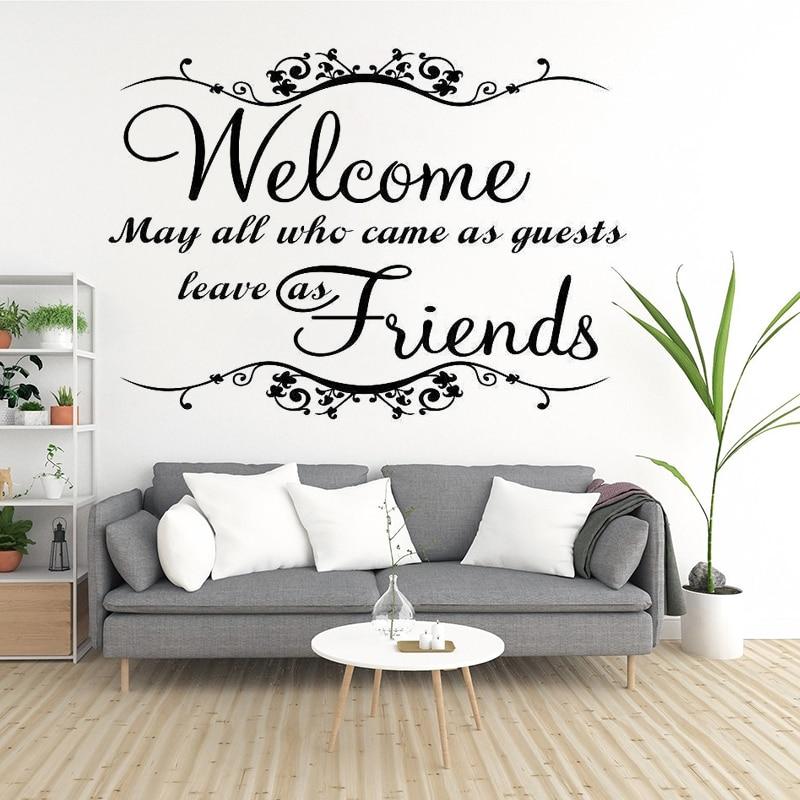 Adhesivos de vinilo para sala de estar, pegatinas de decoración del hogar,...