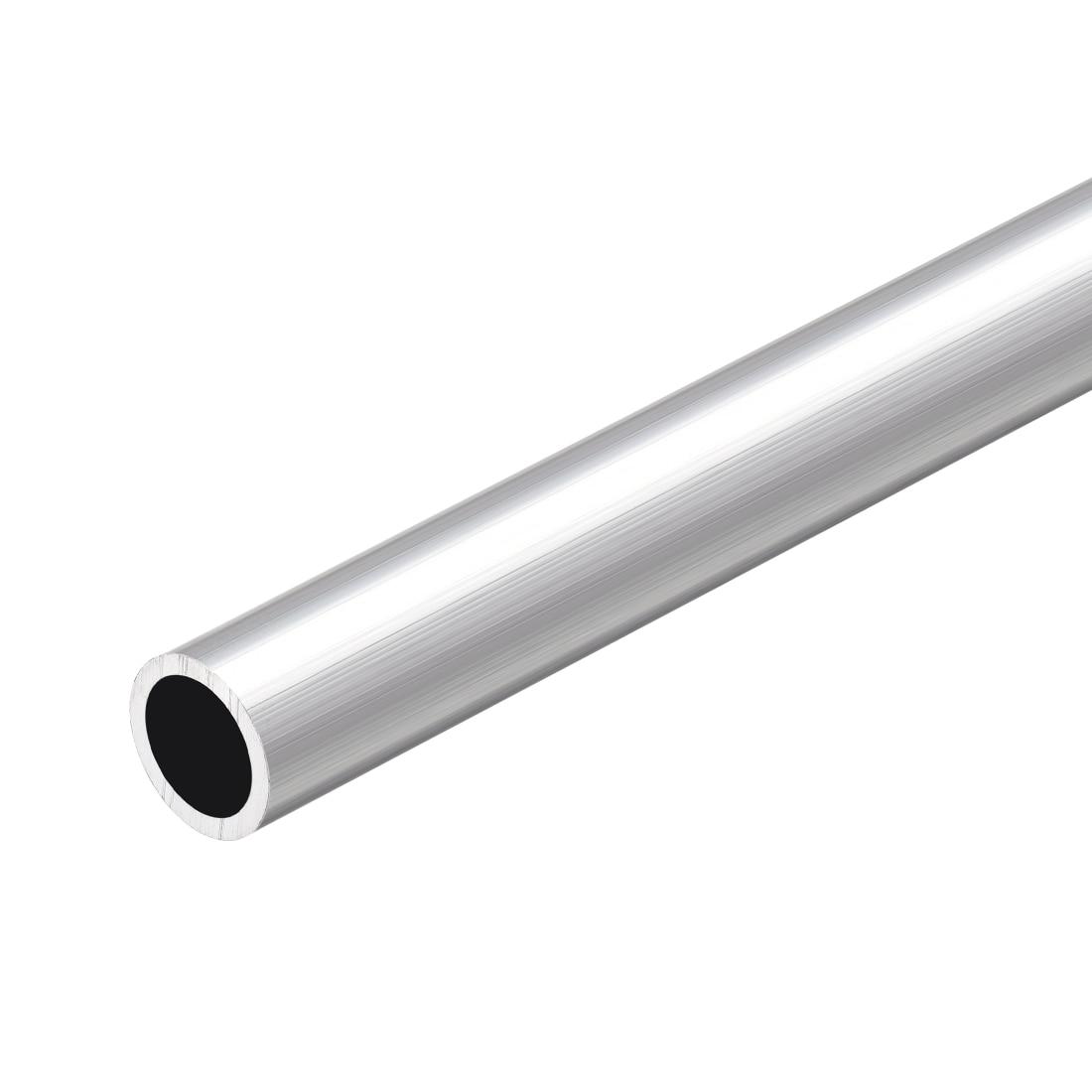Tubo redondo de aluminio uxcell 6063 300mm de longitud 13mm OD 10mm diámetro interior tubo recto de aluminio sin costura