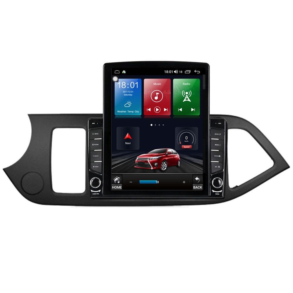 "Reproductor Multimedia de vídeo con Radio para coche de 9,7 ""Android 10,1 para KIA PICANTO Morning 2011- 2014 Tesla, navegación GPS RDS SIN dvd"
