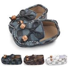 Chaussures en toile pour bébés   Chaussures de bébé à semelle souple, chaussures de berceau confortables, chaussures de nouveau-né, baskets à carreaux, pour garçons et filles