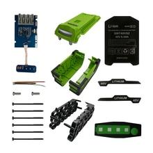 20*18650 batterie Kunststoff Fall Lade Schutz Circuit Board PCB G40B6 für Greenworks 40V Rasenmäher Cropper Gras cutter