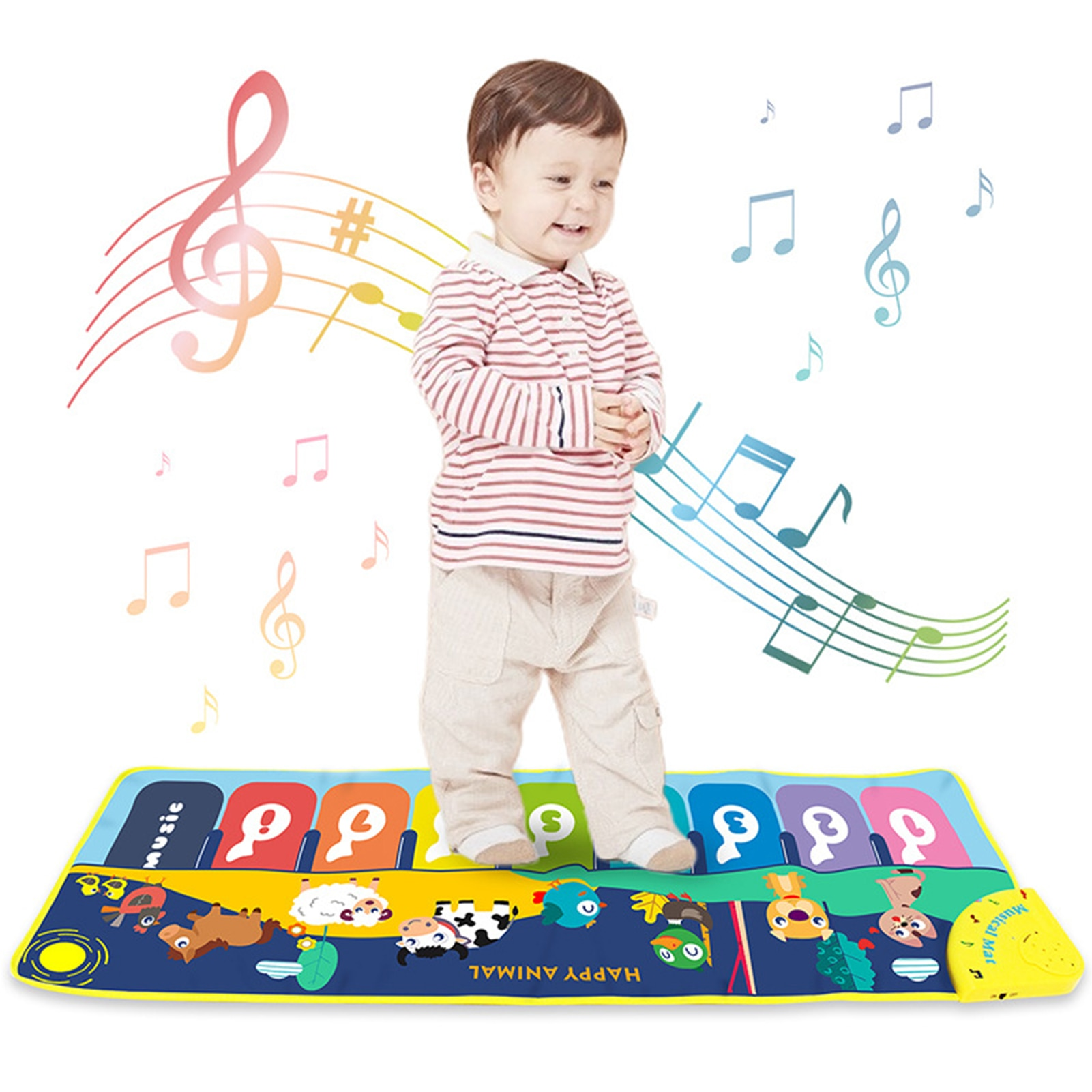 1pc triangle orff musical instruments band percussion educational musical triangolo for children 5 6 7 8 inch kid child gift 100x36cm Baby Musical Play Mat Animals Sound 8 Instruments Tone Adjustable Piano Keyboard Educational Toys For Children Kid Gift