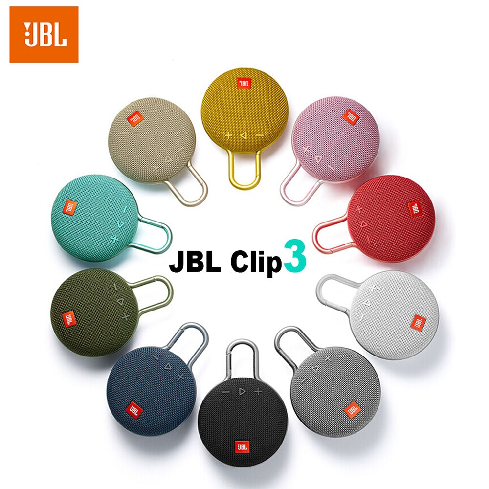 JBL CLIP 3 Original Wireless Bluetooth Speaker IPX7 Waterproof Sports Speaker with Mic Outdoor Portable Speakers Free Shipping enlarge