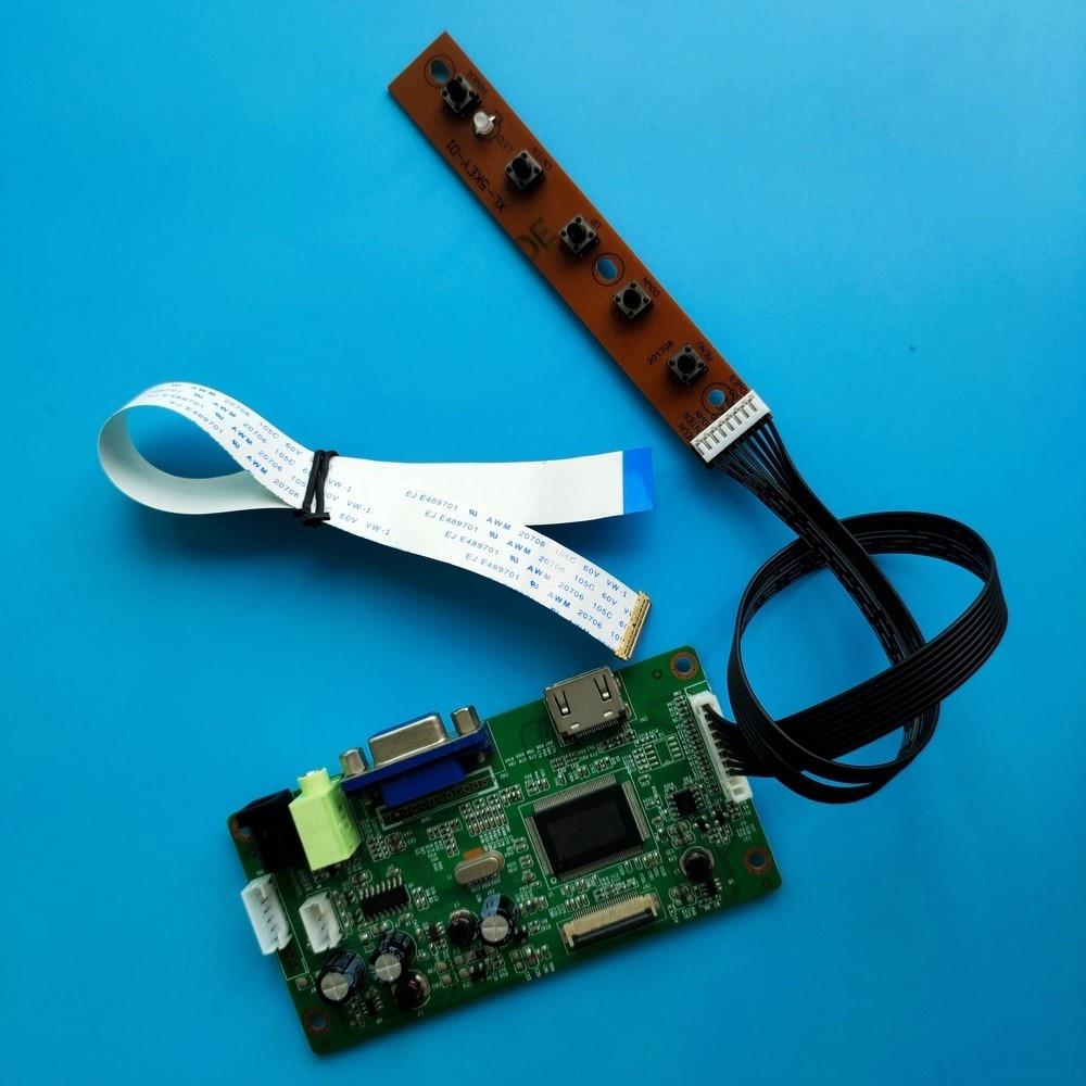 كيت ل LP140WH2-TPS1/LP140WH2-TPTH عرض تحكم مجلس 30pin مراقبة LCD LED 1366x768 لوحة EDP سائق LED HDMI VGA شاشة