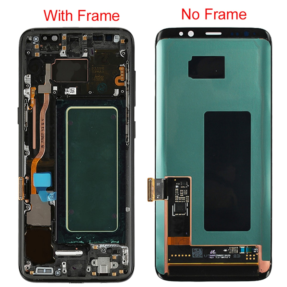 Original S8 LCD For Samsung Galaxy S8 Plus LCD Display With Frame AMOLED S8 G950F G950A Screen Display S8 Plus G955F G955A LCD enlarge