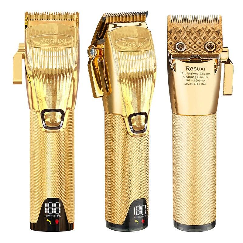 nova maquina de cortar cabelo k31 maquina de cortar cabelo eletrica lcd display digital