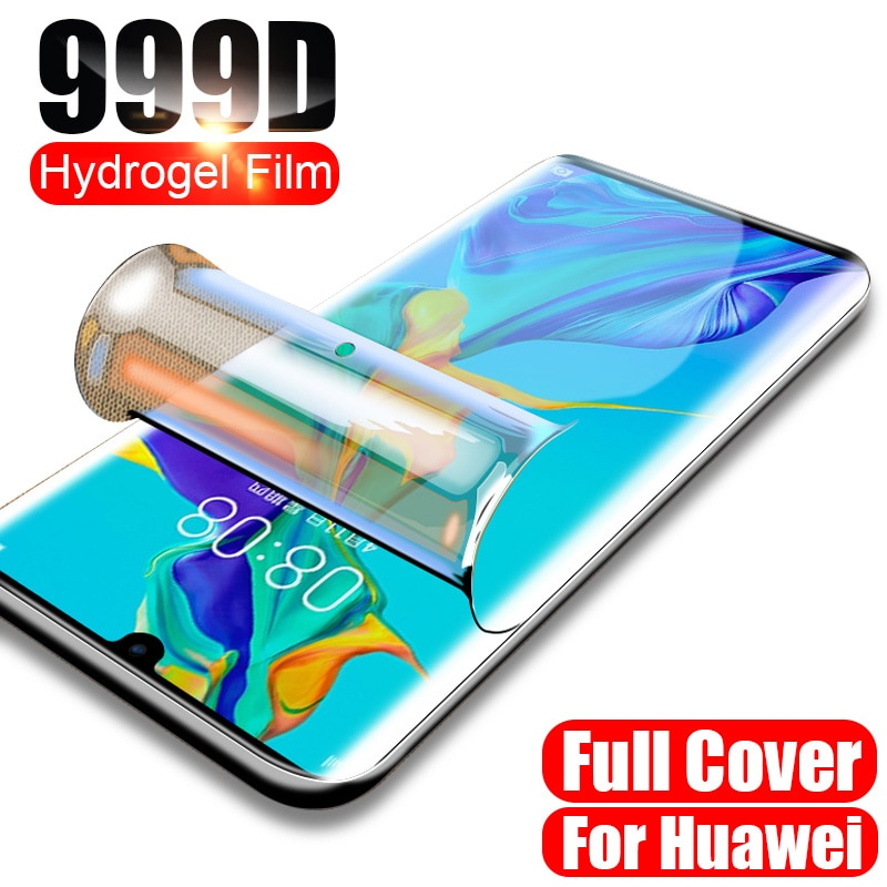 Hydrogel Film for Honor 10 lite 20 pro 10i X 9S 9 lite view 20 Screen Protector for Huawei Honor 8X 9a 10X 20s Not Glass