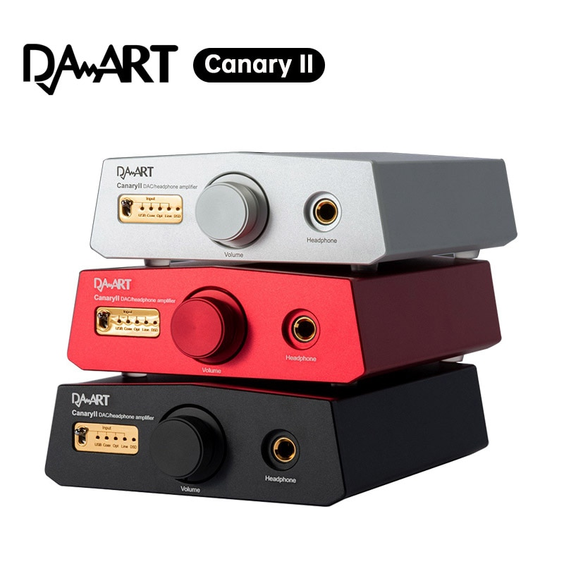 DAART يولونغ الكناري الثاني ESS9038Q2M DSD512 PCM768KHz CanaryII DAC فك مضخم ضوت سماعات الأذن
