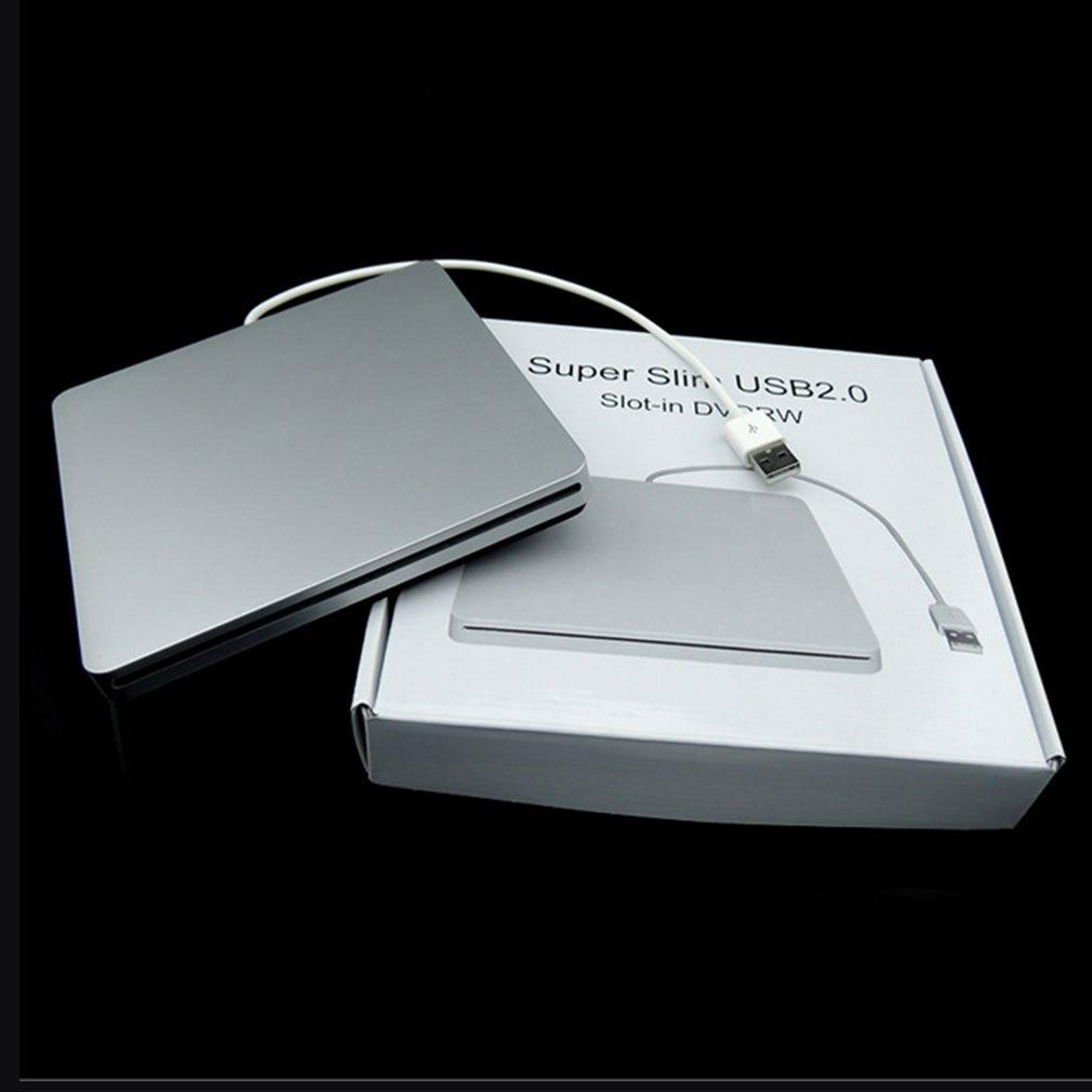 DVD-RW-unidad de DVD externa para ordenador portátil, caja de cierre de succión...
