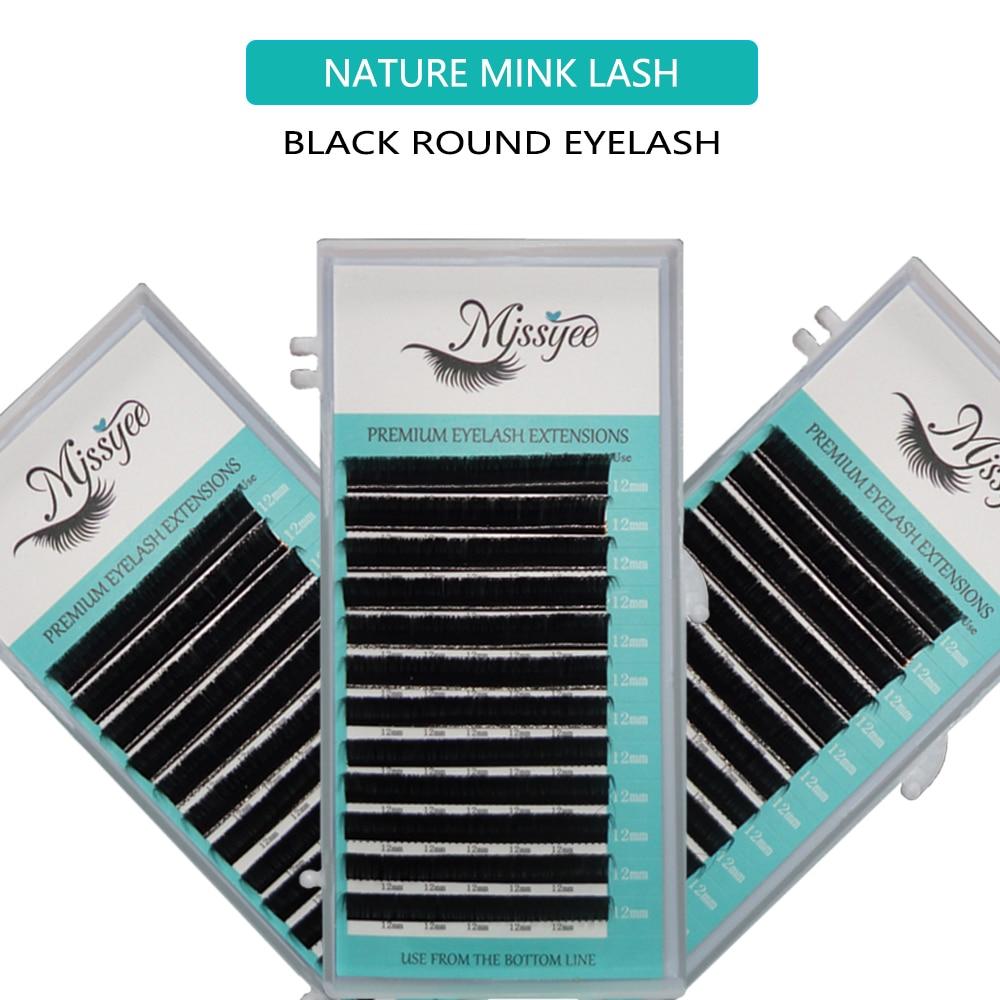 0.20 C 8-15mm Mix Tray Mink Eyelash Extension Individual Eyelash Matte Back Russian Volume Private Label Lashes Make Up Tools