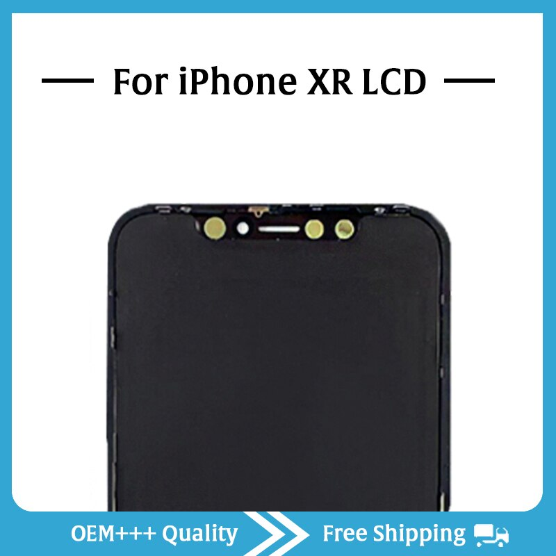 Grade AAA Top Quality For iPhone XR LCD Original No Dead Pixel Display 3D Touch Screen Assembly Replacement Pantalla With Tools enlarge