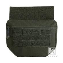 KRYDEX Dump Tropfen Tasche Fanny Pack RANGER GRÜN Tactical Werkzeug Lagerung Kit Tasche Für Platte Träger GPA AVS CPC APC RRV Taktische Weste