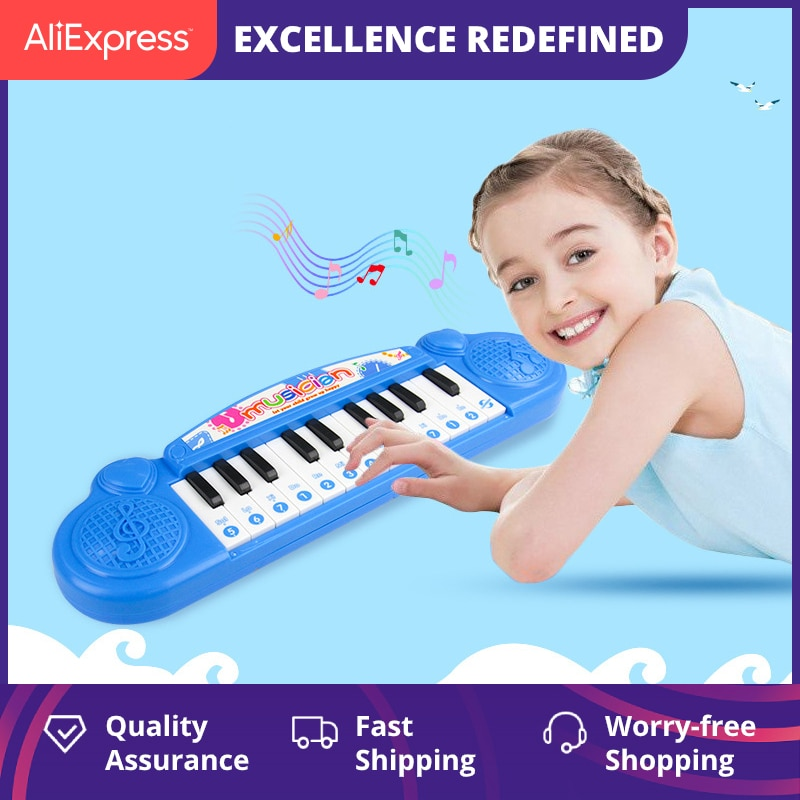 Electronic Keyboard Beginners Baby Early Childhood Music Toy for Children Infants Small Piano for Ba