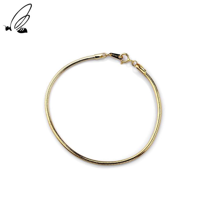 S'STEEL 925 Sterling Silver Cold Wind Snake Bone Design Bracelet Women's Simple Gothic Style Jewelle