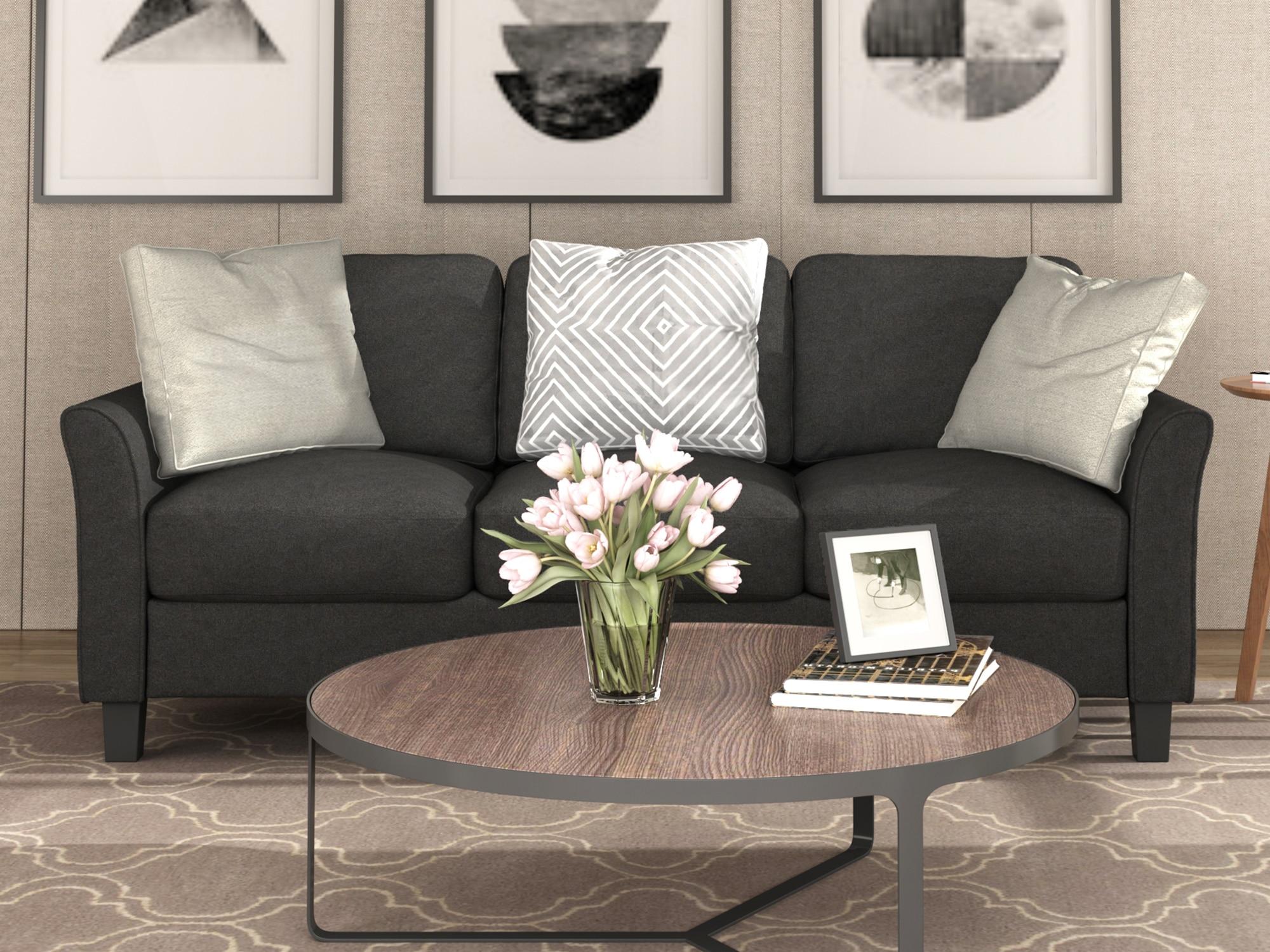 Sofa do salonu 3 siedzenia rozrywka salon kanapa dom umeblowanie nowoczesne meble do salonu