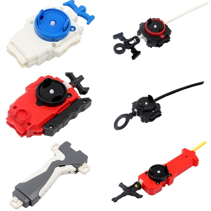 Toupie Blade Beyblade Burst Launcher левый и правый двухсторонний провод Launcher Blade Burst аксессуар гироскоп излучатель классическая игрушка для