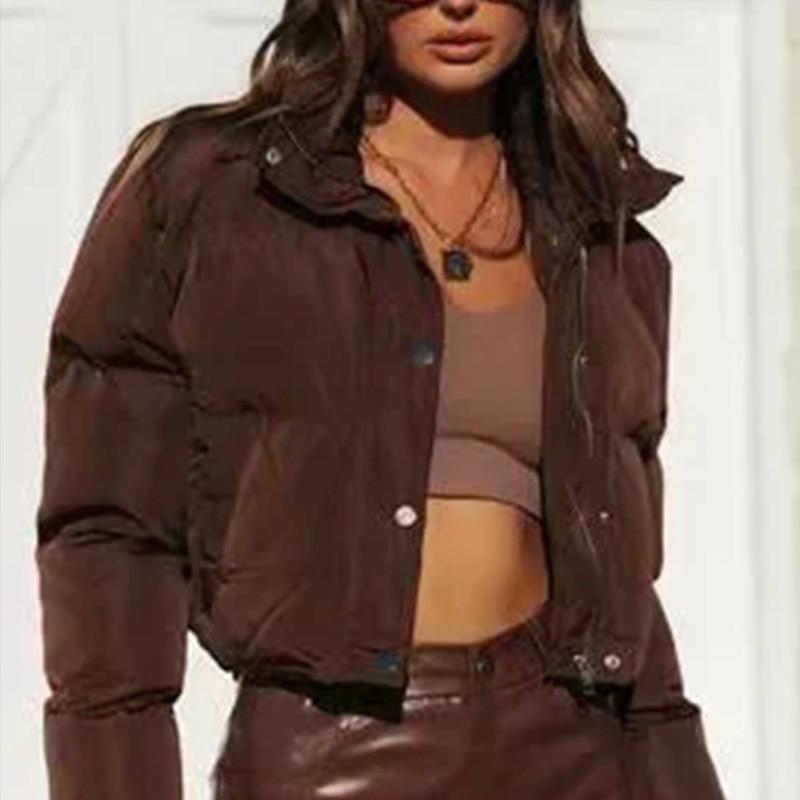 2021 Толстая теплая зимняя парка, короткие парки, Женская пуховая куртка, женские стеганые пальто, женские осенние куртки, Женское пальто шоко...