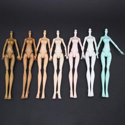 Черный паук-кукла Фигурка тела мульти-суставы Подвижная кукла тело игрушка 23 см кукла игрушка подходит для многих голов черный зеленый черный в наличии
