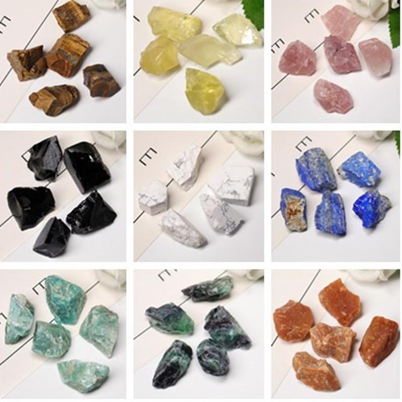 Natural Crystal Quartz Coarse Mineral Specimen, Rose Crystal, Irregular Shape, Rough Rock, Reiki Healing Stone Home Decoration