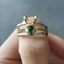 Casco de superhéroe Loki de película, paquete de 3 unidades apilables, anillo de Metal chapado en oro para Cosplay, joyería, accesorio, regalo de San Valentín