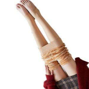Women Warm Winter High Waist Leggings Women Winter Leggings Warm Thick Velvet Wool Fleece Trousers Women Cashmere Pants Leggings