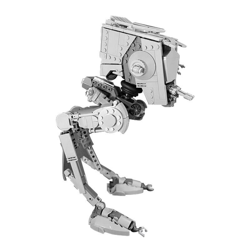 ¡En Stock! MOC Plan Espacial La Rogue One AT-ST caminantes de Ladrillos...
