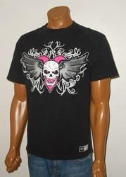 Bret the hitman hart wwf wrestling moda casual camisas masculinas soltas manga curta topos preto tamanho S-3XL