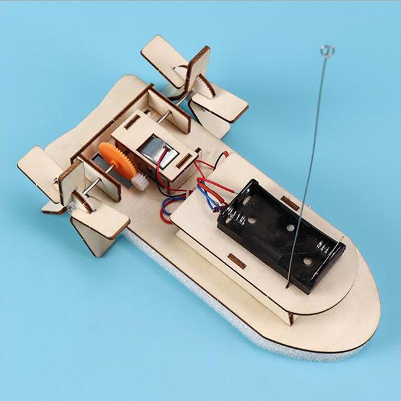 1pcs Kids DIY Wireless RC Model Scientific Experiment Kit Educational Toys