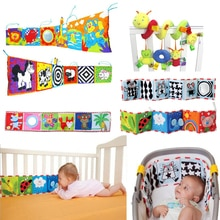 Baby Toys Crib Bumper Baby Book Newborn Soft Infant Protector Educational Toys Baby Room Decor Bed Cot Bumper Baby 0-12 Months