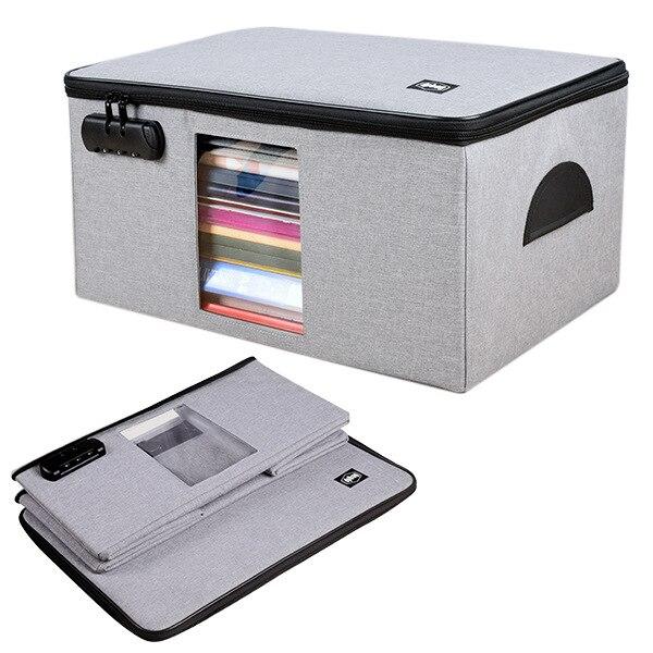 Вместительный многослойный портфель для офисных документов, органайзпосылка для документов, документов, кредитных карт, кошелек для хране...