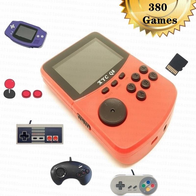 Mini consola de juegos portátil Retro, 380 juegos con ranura para tarjeta...