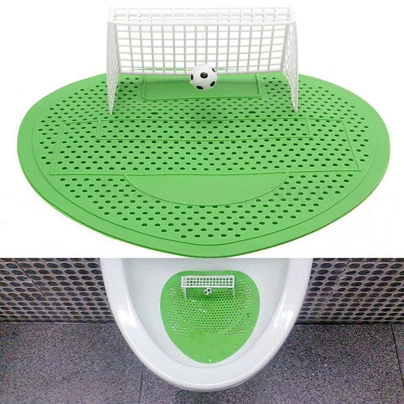 Коврик для футбола стрельбы в стиле гол, дезодорирующие писсуары, фильтрующий коврик для туалета, отеля, дома, клуба, аксессуары для ванной к...