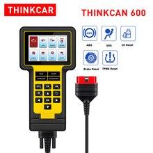 Thinkcar-thinkcan 600 ABS/SRS, Scanner, réinitialisation de lhuile/TPMS/EPB, lecteur de code, câble OBD2, TS600, PK CR619 AL619