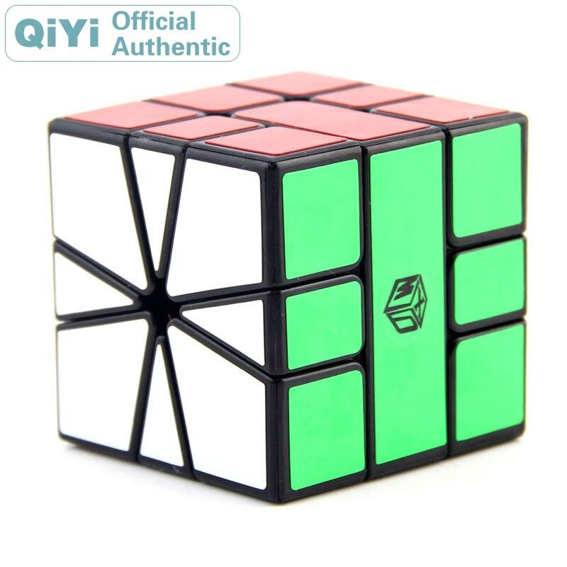 QiYi MoFangGe XMD Volt SQ1 Magic Cube 3x3x3 Square 1 3x3 Cubo Magico Speed Neo Cube Puzzle Kostka Antistress Toys qiyi sail w 3x3x3 magic cube speed cubes puzzle neo cube 3x3 cubo magico educational toys professional 3x3 speed cube