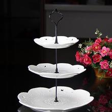 Étagère à gâteaux limite en plastique, étagère à gâteaux à 3 niveaux, étagères, assiettes, mariage, fête, vaisselle, ustensiles de cuisson, étagère à gâteaux à 3 étages