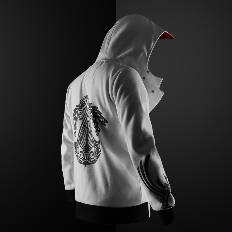 Zogaa assassino hoodie masculino 2020 novo algodão harajuku hoodie 5 cores moletom masculino plus size S-4XL anime hoodie com capuz