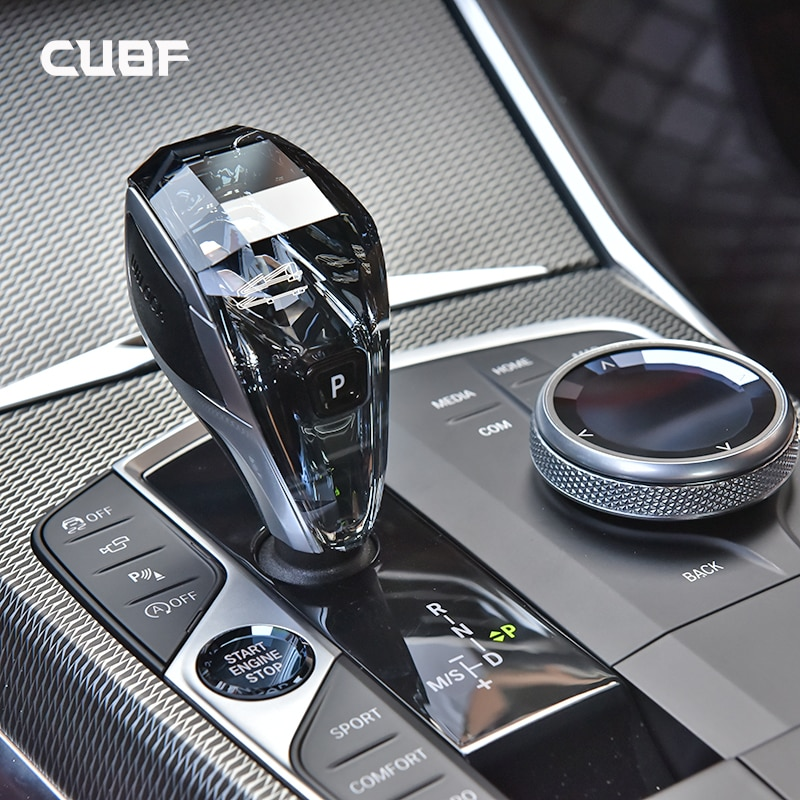 مقبض ناقل الحركة الكريستالي ، ملحقات السيارة ، لسيارات BMW 4 Series G22 ، ثلاث قطع