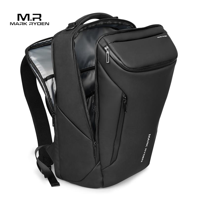 도난 방지 패션 남성 배낭 다기능 방수 15.6 인치 노트북 가방 남자 USB 충전기 여행 가방