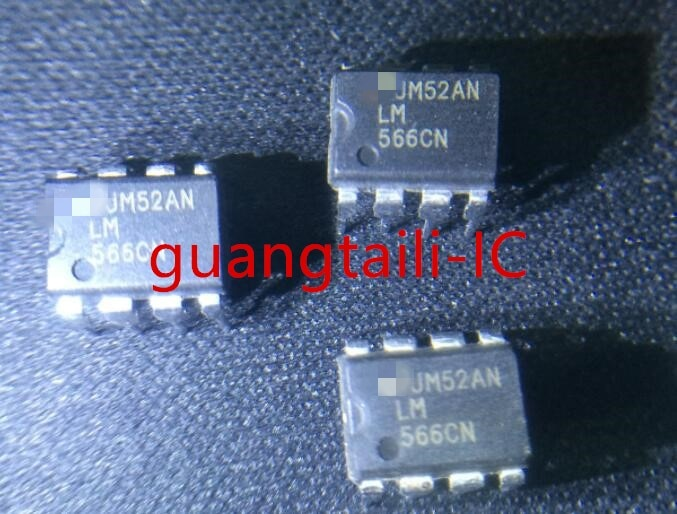 5 قطعة LM566CN LM566C DIP-8 LM566 566 الجهد تسيطر مذبذب جديد الأصلي