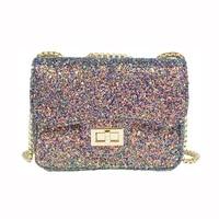 sling bag girls top quality shoulder bag bling bling clutch handbag