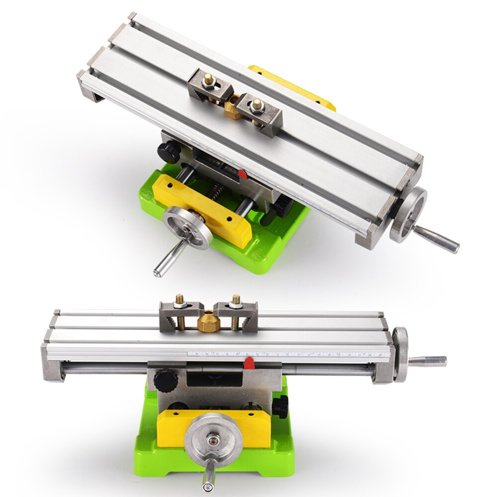 ALLSOME Hand Wheel With Adjustable Mini Compoud Bench Multifunction Drill Vise Fixture Precision Milling Machine Working Table enlarge